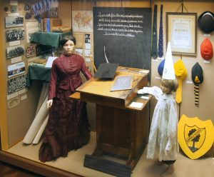 A display in the Bushey Local History gallery.