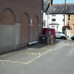 Blue Badge parking space next to Bushey Museum.