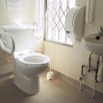 First floor toilet at Bushey Museum.