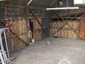 Identifying the studio timbers.