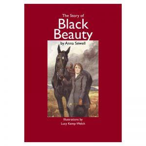 A book titled The Story of Black Beauty, by Anna Sewell.