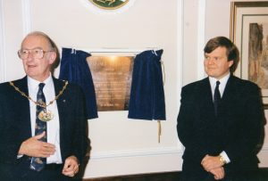 A picture of the 'Opening of the Bushey Museum'