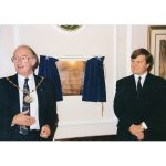 Phot of the opening of the BUshey Museum 25 years ago.