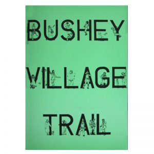 A book called Bushey Village Trail.