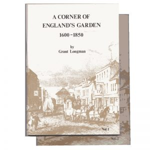 A book 'Corner of England's Garden'