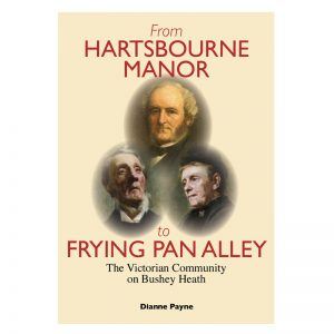 A book called Hartsbourne Manor to Tin Pan Alley, a history of Bushey Heath.