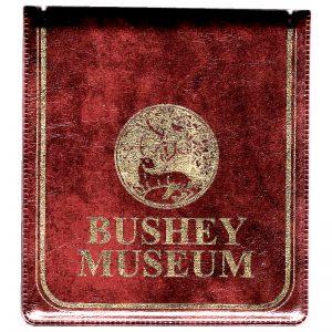 A Bushey Museum Jotter pad.