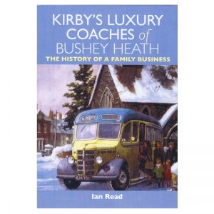 A book ccalled Kirby Luxury Coaches of Bushey Heath.