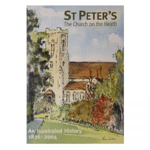 A book called St Peter's - Church on the Heath.