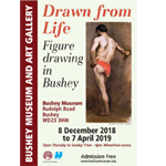 Poster for the Drawn from Life exhibition