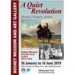 Poster for exhibition 'A Quiet Revolution - Bushey Women Artists'