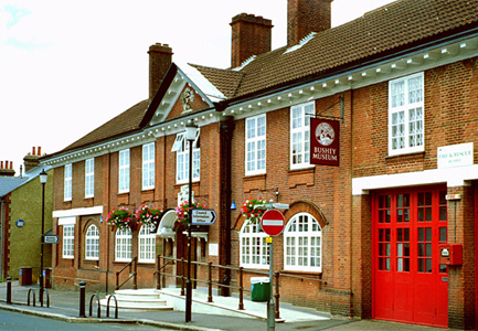 Picture of the Bushey Museum frontage.