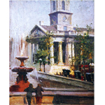 A picture of St Martins in the Fields by Frank Gascoigne Heath