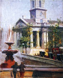 St Martins in the Fields by Frank Gascoigne Heath