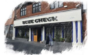 Blue Check restaurant