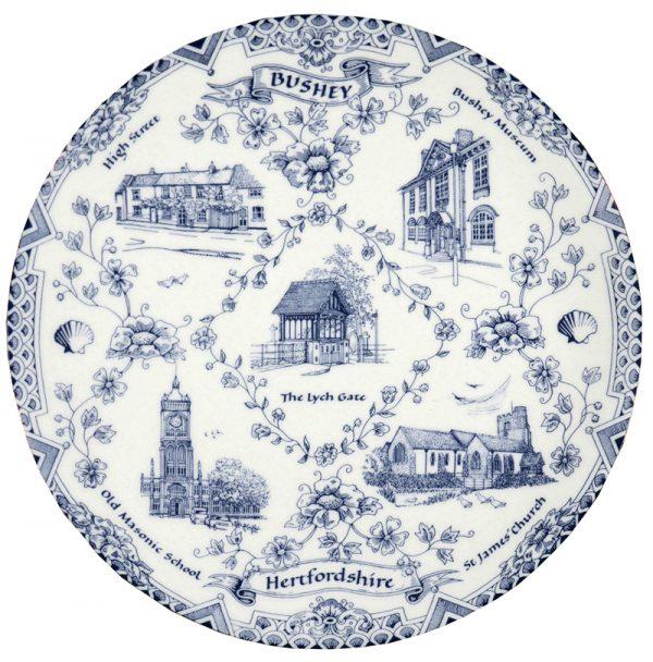 Bushey plate