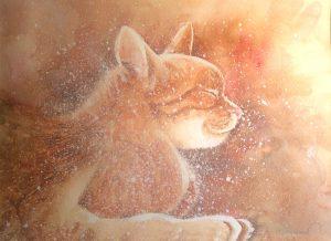 Catnapping by Joy Taman.