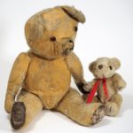 Teddy bears for the 'Old Toys' Education Sessions.