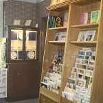 The Museum shop.