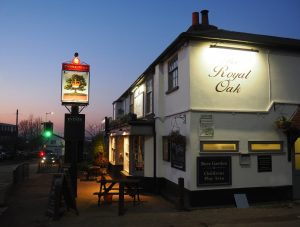 A previous winner - 'Evening at the Royal Oak'.