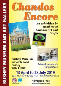Poster for the Chandos Encore exhibition