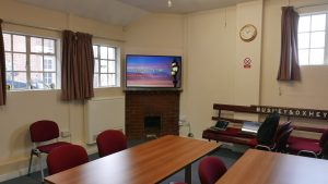 The Meeting Room which is available for hire.