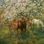 The Years at the Spring by Lucy Kemp-Welch