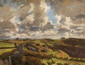 'Before the Storm, Tintagel, Cornwall' by Algernon Mayow Talmage, 1922
