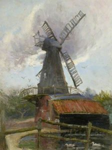 'Bushey Heath Windmill' by Kate ethyl Cowderoy