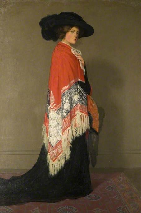 'Dressing up' by Albert Ranney Chewett