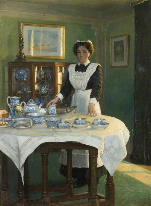 Teatime by Albert Ranney Chewett