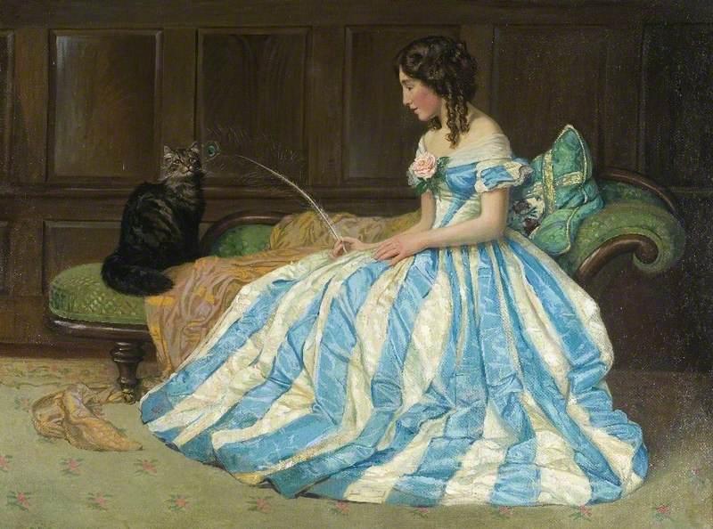'Teasing' by Albert Ranney Chewett