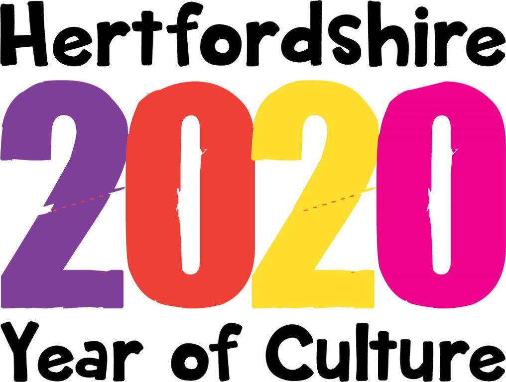 Hertfordshire 2020 Year of Culture logo