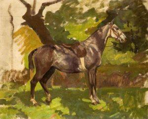 Grey Horse by Algernon Talmage