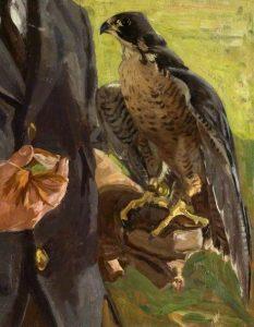 Falcon by Algernon Talmage