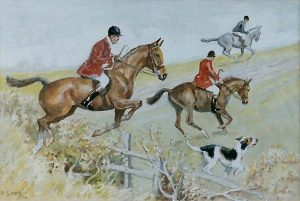'Hunting, Racing' by Mabel Gear