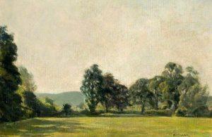 Summer Landscape by Ethel Gabain