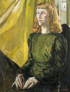 The Green Dress by Ethel Gabain