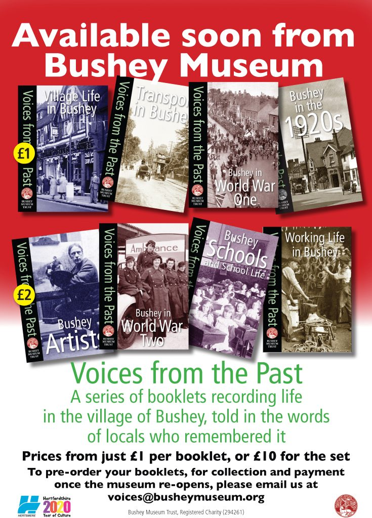 'Voices from the Past' poster