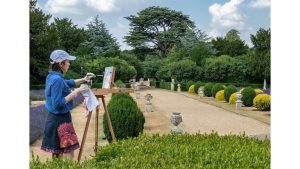 Capturing the Gardens at Belton House by Bill Cooper