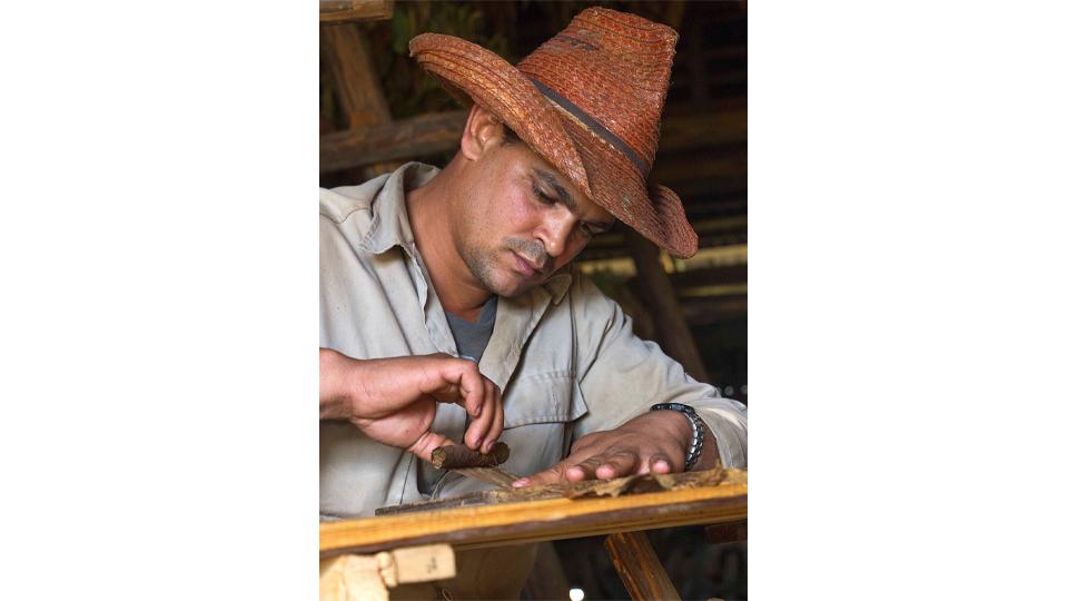 Cigar Maker - Vinales, Cuba by Steve Francis