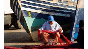 Fisherman - Essaoura, Morocco by Steve Francis