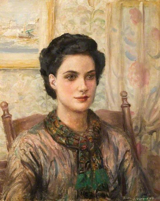 Miss Irene Florence Beacham by Rowland Wheelwright