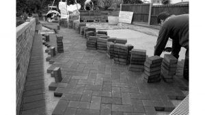 Paving - Bushey by Steve Francis