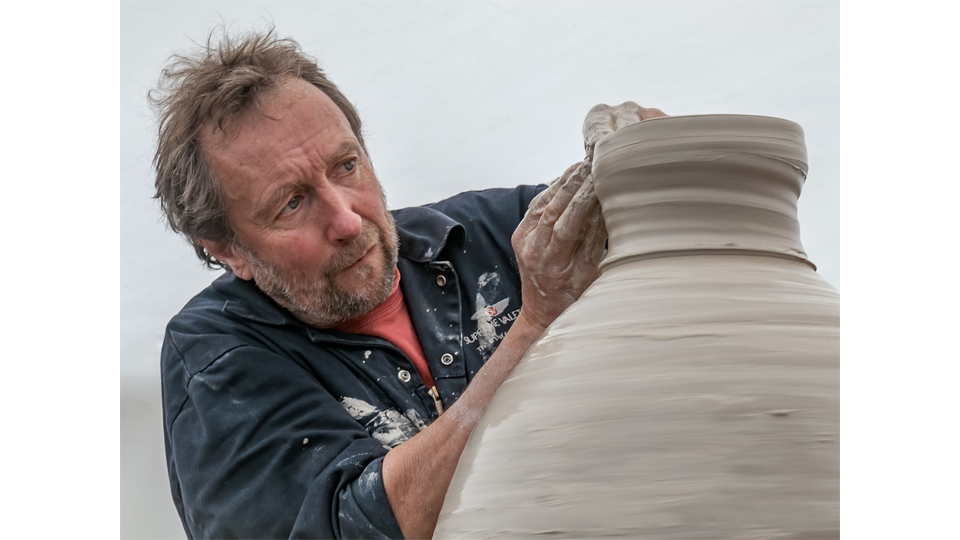 Stephen Parry, Master Potter by Bill Cooper