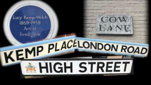 Bushey street names