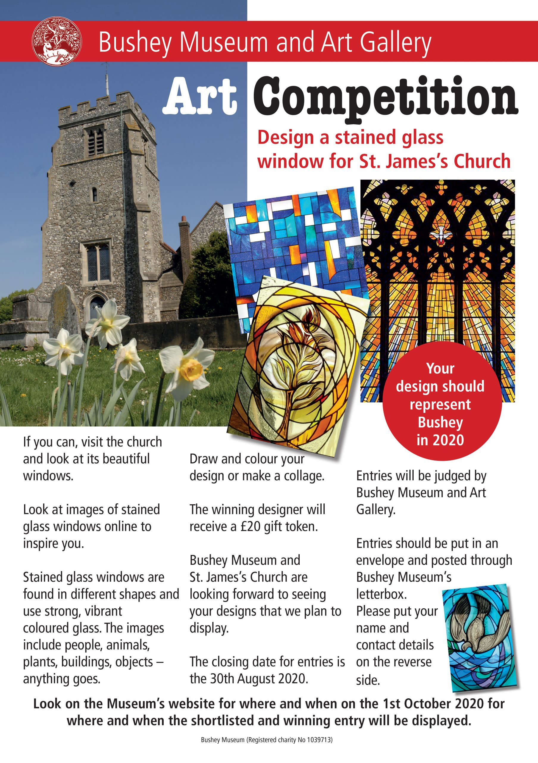 Art Competition - Stained Glass Window