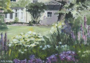 The Flower Border, Reveley Lodge, 1993