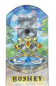 Stained Glass picture by Mrs O Morris
