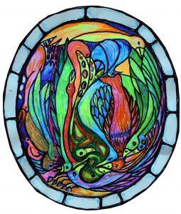 Stained Glass Window design by Jenny Birch